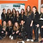 Zaalkampioenen Hockeyclub Barendrecht gehuldigd (2015-2016)