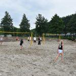 Eerste wedstrijden gespeeld op nieuwe Beach sportvelden