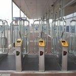 Station Barendrecht, OV-chipkaart toegangspoortjes