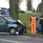 Automobilist in '30km/u bocht' tegen boom gebotst langs Sweelincklaan