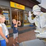 Levende standbeelden en straattheather Carnisse Veste (Carnisselande, Barendrecht)
