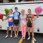 Elite-vrouwen/Belofte-Vrouwen/Amateur-Vrouwen (60km), Wielerronde Barendrecht 2013