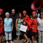 Funfare & prijswinnaars op 't Vlak/Middenbaan, Zomerfeest Barendrecht 2013