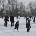 Schaatsbaan Barendrecht op sportpark Ziedewij op zaterdag 26 januari 2013