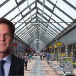 Mark Rutte op zaterdag 4 maart in winkelcentrum Carnisse Veste