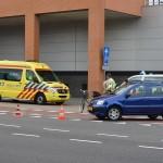 Aanrijding tussen auto en fiets op de 2e Barendrechtseweg in Barendrecht