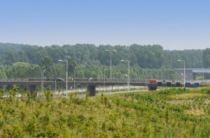 Viaduct Vrijenburgweg in Barendrecht (Carnisselande)
