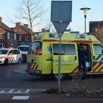 Fietser aangereden op fietspad Palmhout in Barendrecht