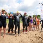 Eerste Barendrechtse zwemloop in Vrijenburgbos