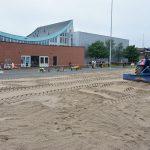 Beach handbalvelden in de maak bij sporthal Aksent