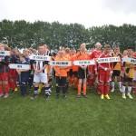 Opening en presentatie teams van het G-Voetbaltoernooi 2013 in Barendrecht