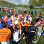 Finale wedstrijden schoolvoetbaltoernooi 2014, Sportpark de Bongerd Barendrecht