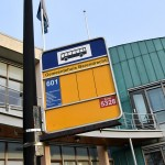 Buslijn 601, halte gemeentehuis Barendrecht