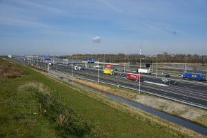 Snelweg A15, Barendrecht (thv Smitshoek)