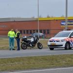 Motorongeluk op de Kilweg in Barendrecht