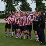 Strafschoppen finale G-Voetbaltoernooi 2013 in Barendrecht