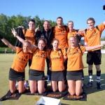 Vitesse 1 kampioen, wint overtuigend met 24-8 (Barendrecht)