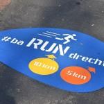 BaRUNdrecht hardlooproutes van 5 en 10 kilometer uitgezet