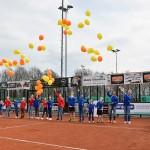 Nieuwe tennispark officieel geopend bij TV Barendrecht