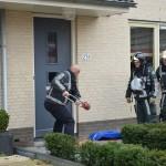 Keukenbrand zorgt voor massale uitruk hulpdiensten naar de Vrijenburglaan in Barendrecht