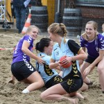 Beach Handbal op het Doormanplein in Barendrecht