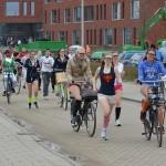 Grote sponsorloop in Barendrecht door leerlingen van het Calvijn Groene Hart Barendrecht