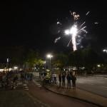 Vuurwerkshow bij de kermis in Barendrecht 2014