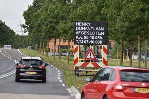 5 en 6 okt: Afsluitingen Sweelincklaan en Henry Dunantlaan
