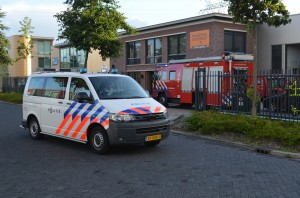Brandje in bedrijfspand aan de Deventerseweg in Barendrecht
