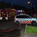 Schoorsteenbrand in woning aan het Willem-Alexanderplantsoen in Barendrecht