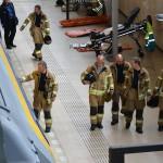 Brandweer oefent in spoortunnel van station Barendrecht