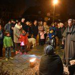 Honderden deelnemers kerstwandeling 'Bethlehem in Barendrecht'
