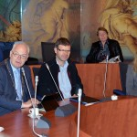 Burgemeester verwelkomt gasten uit Louny in Barendrecht