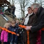 Opening oranjespeeltuin en nieuwe speeltoestel in Barendrecht