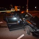 Autodief veroorzaakt aanrijding op kruising Middeldijk/Barendrechtseweg (Barendrecht)