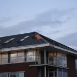 Stormschades rond de Kilweg/Middelweg in Barendrecht