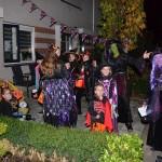 Halloween groots gevierd bij het Griegplantsoen in Barendrecht