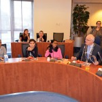 Leerlingen De Driehoek ontbijten met de burgemeester en wethouders (Gemeentehuis Barendrecht)