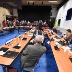 Gemeenteraadsvergadering in De Baerne