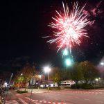 Vuurwerkshow bij de kermis van Barendrecht