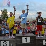 Scholenkampioenschappen hardlopen op sportpark de Bongerd, Barendrecht