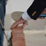 Symbolische eerste steen gelegd bij nieuwe brandweerkazerne in Barendrecht