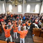 Sfeerimpressie: Koningsdag 2016 muzikaal van start in Barendrecht