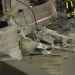 Schade na dodelijk ongeval en brand in de Heinenoordtunnel, Barendrecht