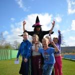 Heksenbezemsoeploop op sportpark de Bongerd in Barendrecht