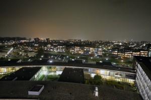 Carnisselande in het donker: geen straatverlichting