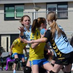 Handbalwedstrijd Savosa, Braderie sporthal Aksent (1) in Barendrecht