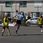 Handbalwedstrijd Savosa, Braderie sporthal Aksent (2) in Barendrecht