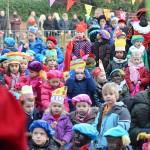 Sinterklaas op bezoek bij scholen in Barendrecht (Foto: Het Kompas, 5 december 2014)