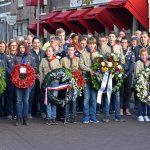 Dodenherdenking bij het monument op het Doormanplein